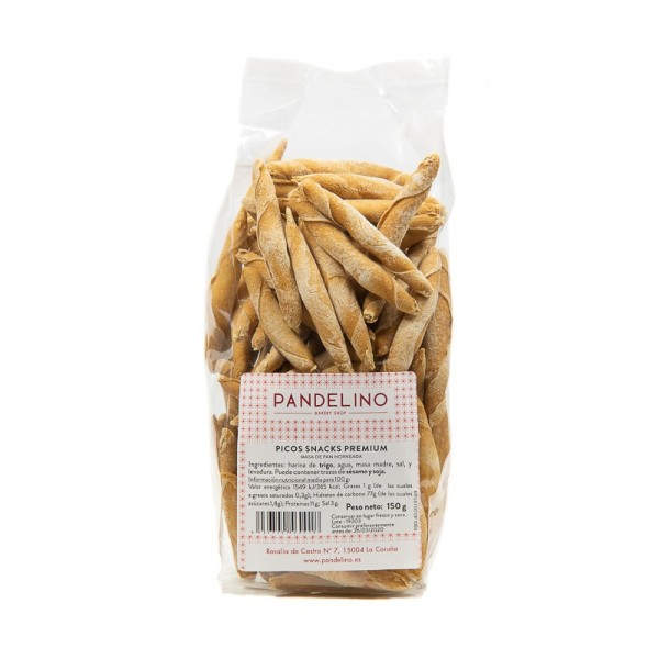 Picos snack premium Pandelino
