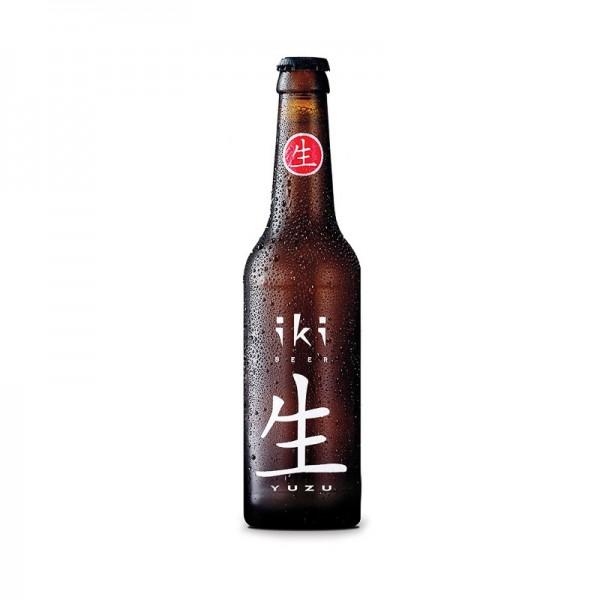 Cerveza con yuzu Iki Beer