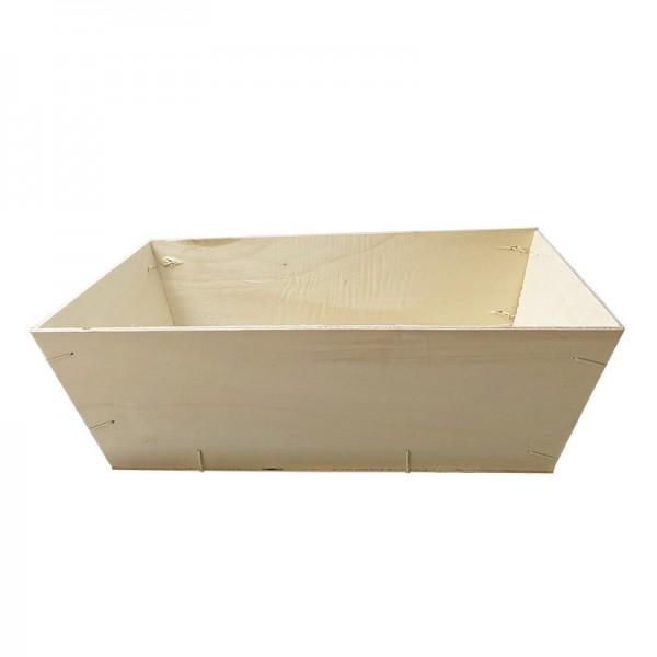 Cajón de madera rectangular...