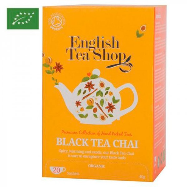 Té Black Chai English Tea Shop