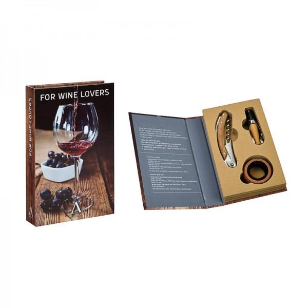 Kit gourmet accesorios para vino