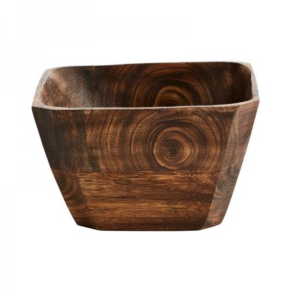 Cuenco cuadrado de madera