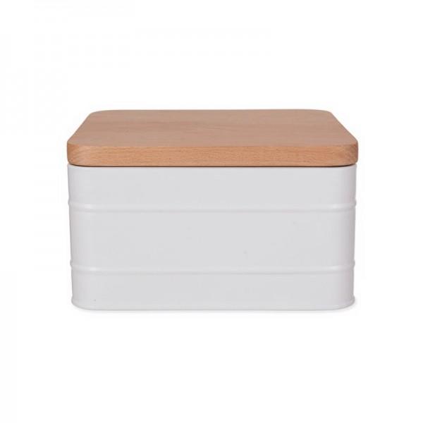 Caja con tapa cuadrada