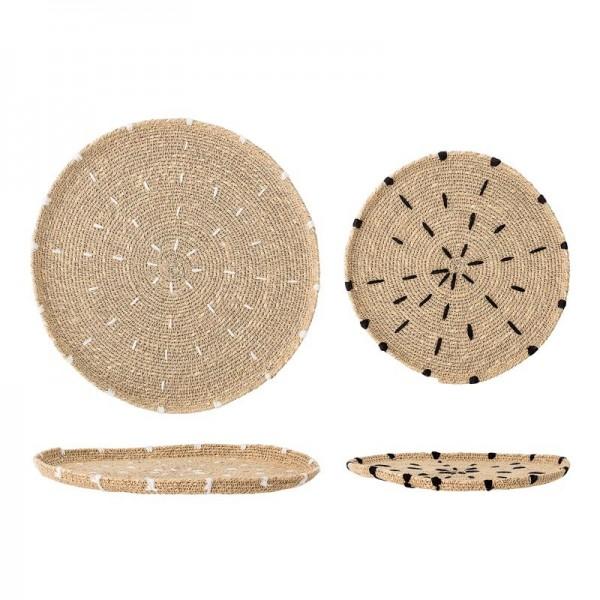 Plato de decoración Seagrass