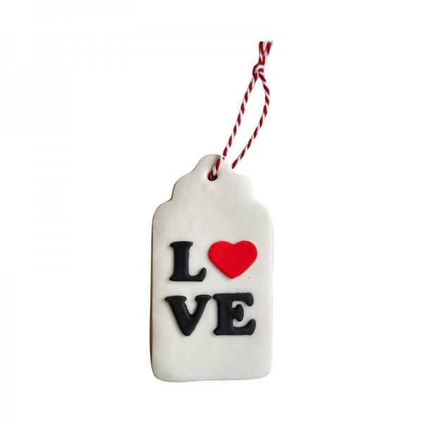 Galleta San Valentín Love Tag