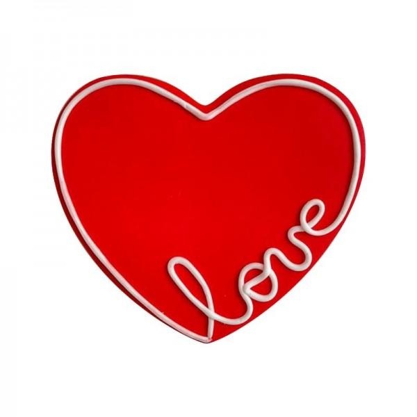 Galleta San Valentín Love Roja