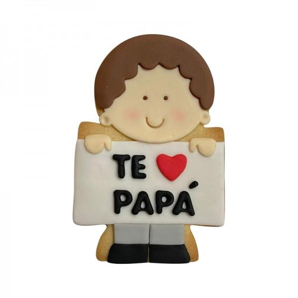 Galleta Te quiero Papá - Hijo