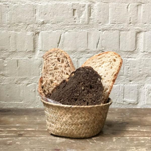 Rebanadas de pan 3 variedades