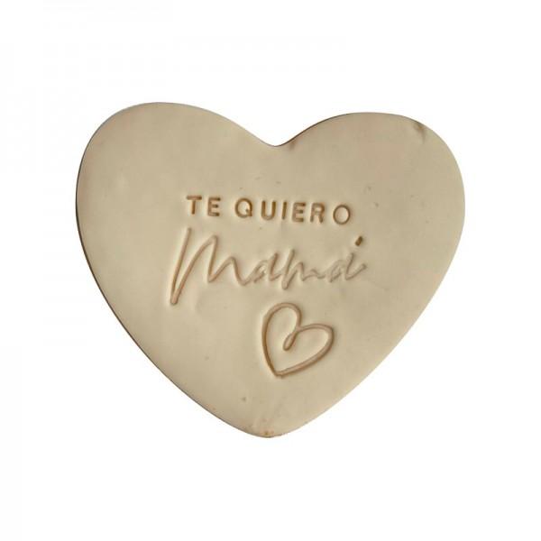 Galleta Corazón Te Quiero Mamá