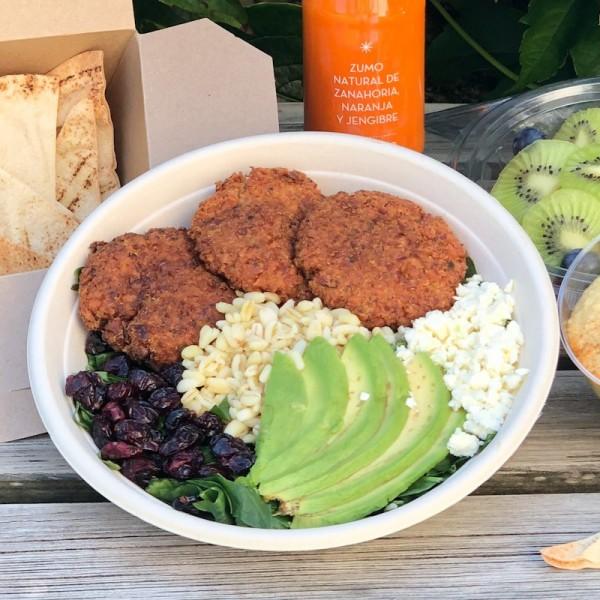 Healthy bowl con falafel
