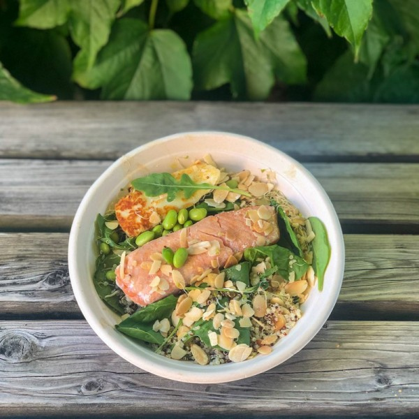 Healthy bowl de salmón