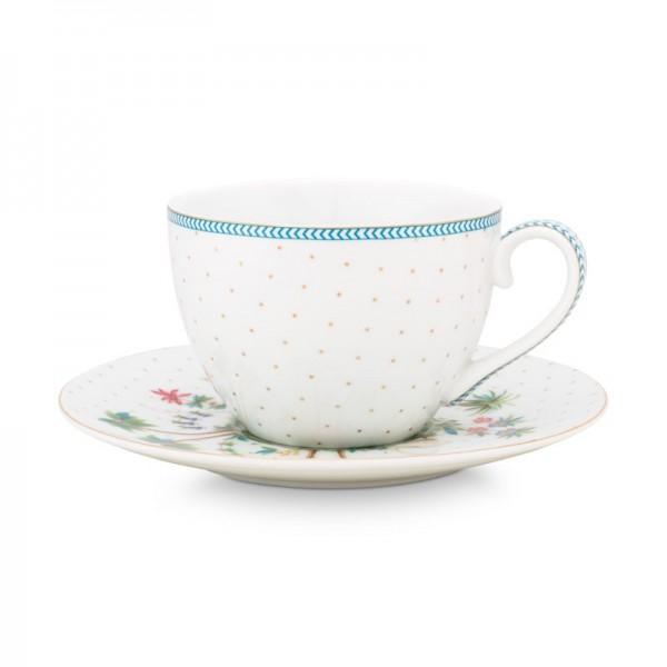 Set plato y taza de té o...