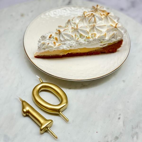 Velas de números para tartas
