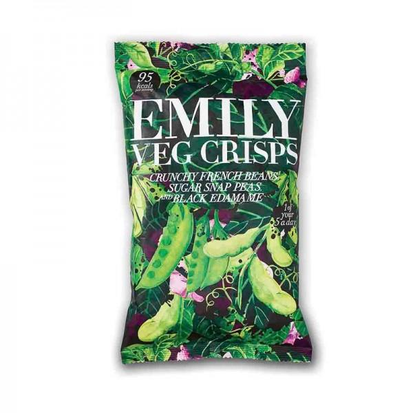 Chips de judías verdes y...