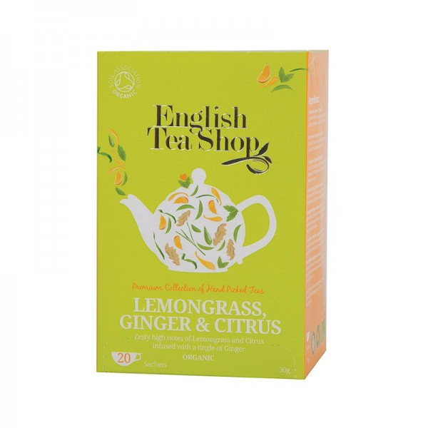 Té Lemongrass, Ginger &...