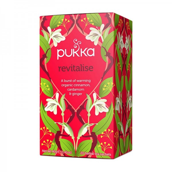 Infusión Revitalise Pukka