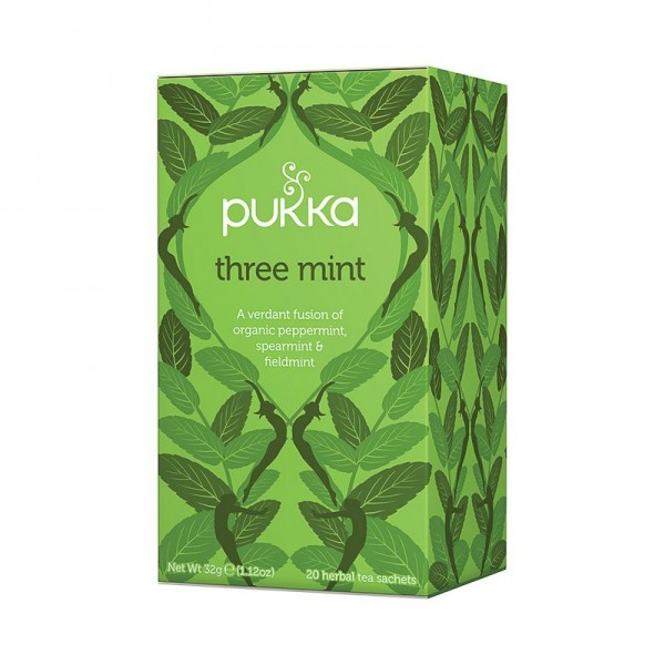 Infusión Three Mint Pukka