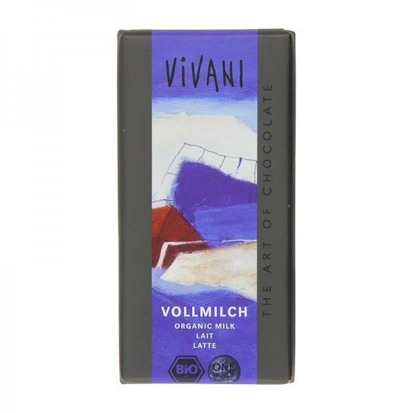 Chocolate con leche Vivani