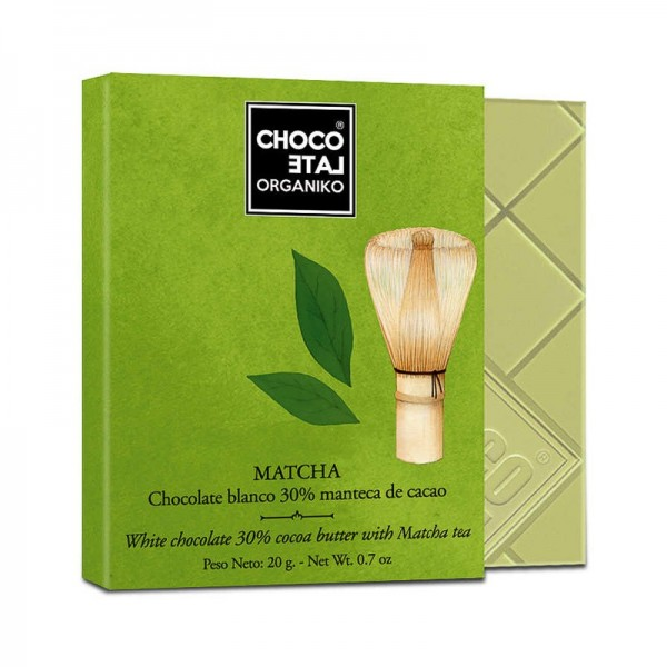 Chocolate blanco Té Matcha...