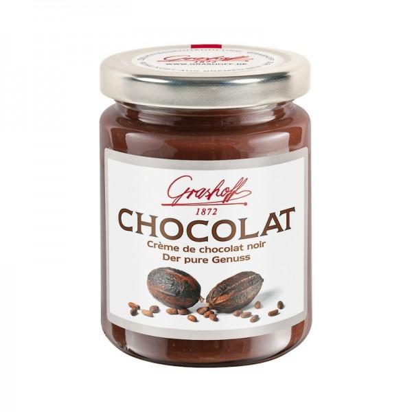Crema de chocolate negro...