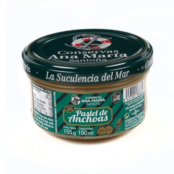 Pastel de Anchoa Conservas...