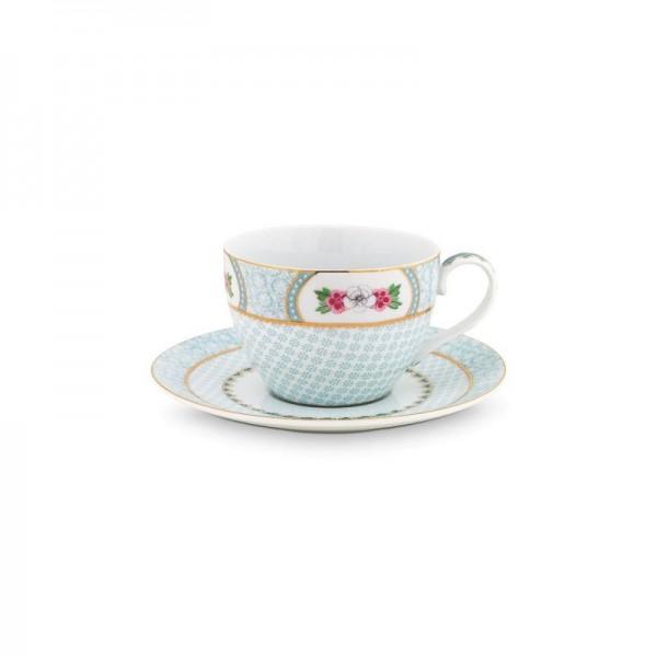 Set de té plato y taza...