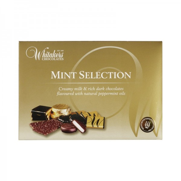 Chocolates mint selection...